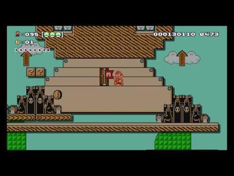 Super Mario Maker - Expert 100 Mario Challenge #9