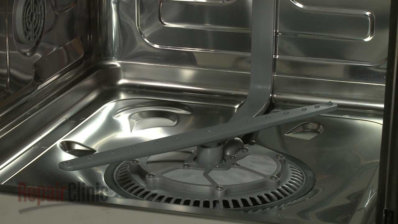Samsung Dishwasher Replace Lower Spray Arm Dd8201120a