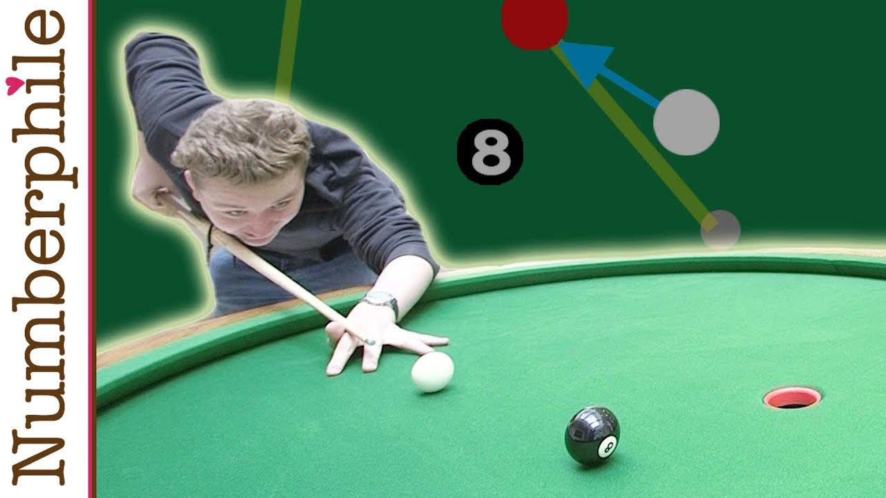 A Game For The Elliptical Pool Table Numberphile YouTube - Circular pool table