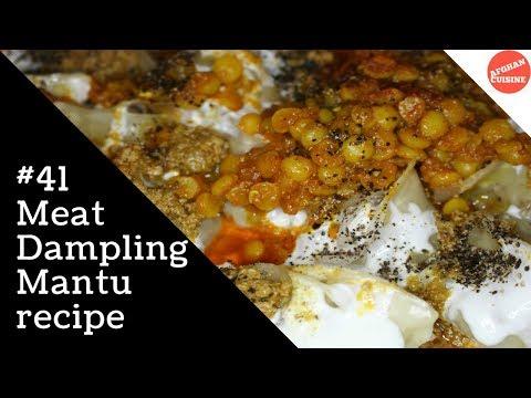 Mantu recipe - Afghan Dumpling منتو 'Afghan Cuisine'