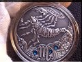 Belarus 2013 Silver Scorpio (Signs of the zodiac)