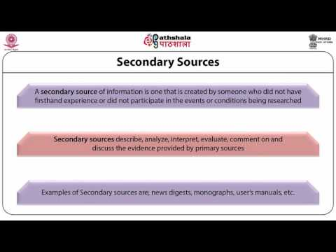 Information Sources in Social Science