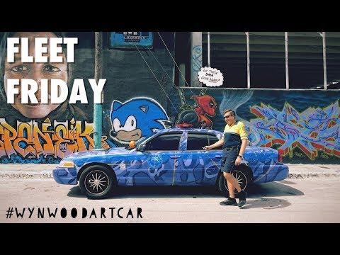 Miami Police FLEET FRIDAY: Ford Crown Vic ( Mpd Art Car)