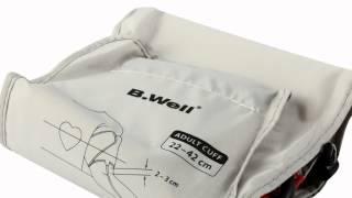 Автоматический тонометр B.WELL WA-33. Обзор. Магазин Пипетка(B.Well WA-33 -- британский электронный тонометр для измерения артериального давления и частоты сердечных сокращ..., 2013-09-20T09:11:00.000Z)