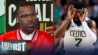 Stephen Jackson reveals Boston's playoff X-factor against LeBron's Cavs | NBA | FIRST THINGS FIRST
