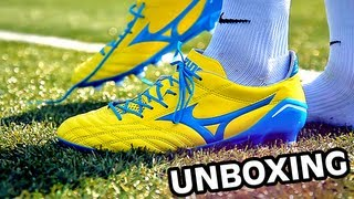 Mizuno morelia neo | lightest leather football boot | unboxing freekickerz