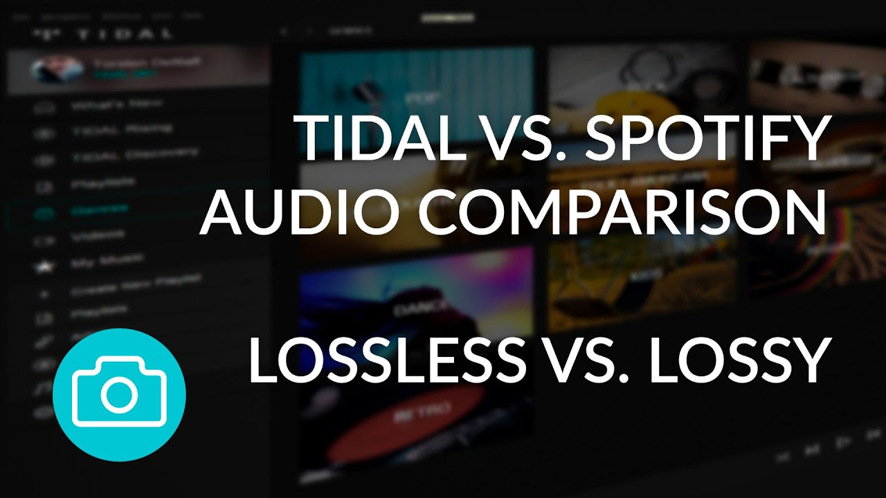 Tidal vs  Spotify - Audio File Comparison