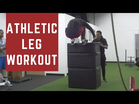 Athletic Leg Workout | First Time Squatting In A Year