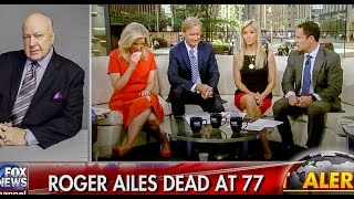 Fox Hosts Cry And Say Roger Ailes 'Saved This Country'