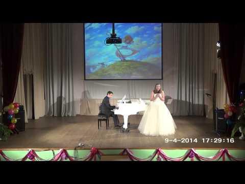 Отчетный концерт сольного отделения - 2014 Годар Песня пастушки исп. Анна Булычева