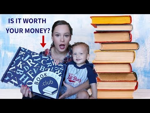 BOOKCASE.CLUB REVIEW AND UNBOXING! SUBSCRIPTION BOXES FOR KIDS