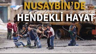Nusaybin'de hendekli hayat