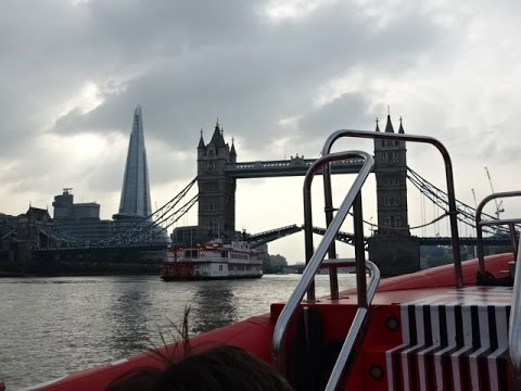 River Thames Rockets Speedboat Ride, London, UK