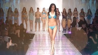 Goldenpoint Sfilata Beachwear 2015 with Federica Nargi