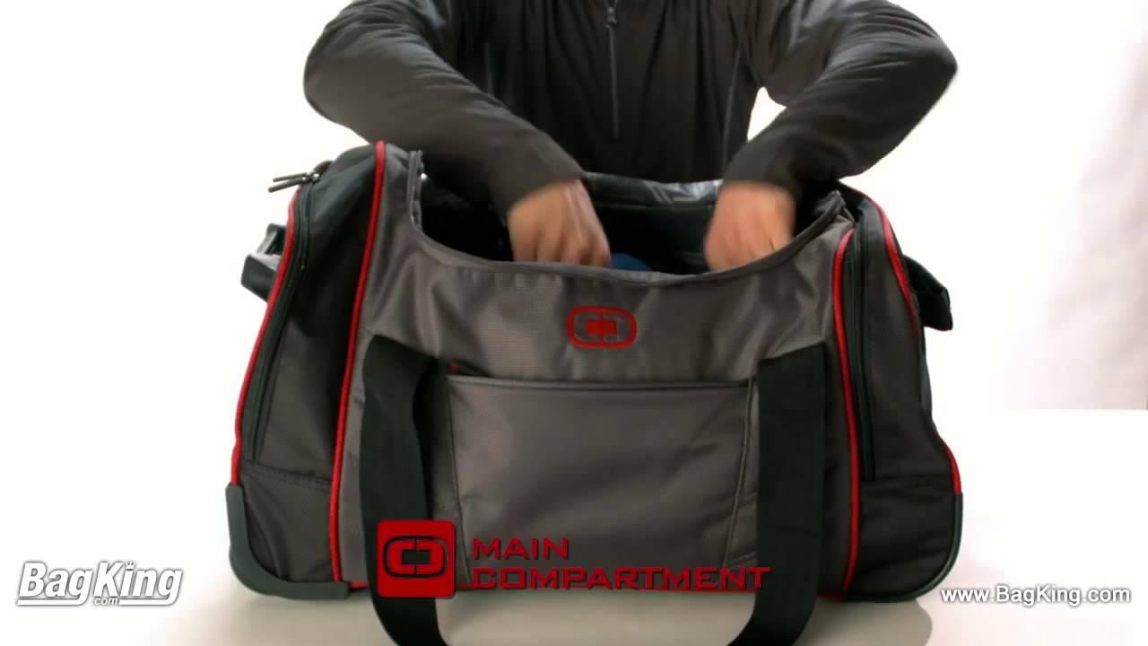Ogio Hamblin 22 Wheeled Duffel Bag Bagking