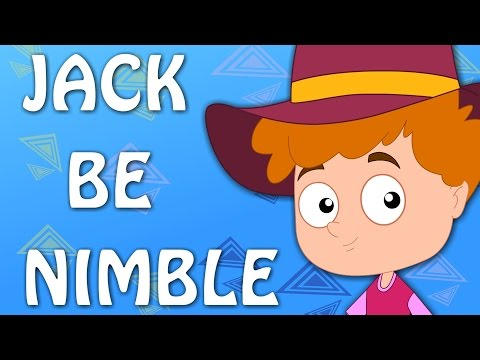 Jack Be Nimble | Songs For KIds And Childrens | Nursery Rhymes For Baby