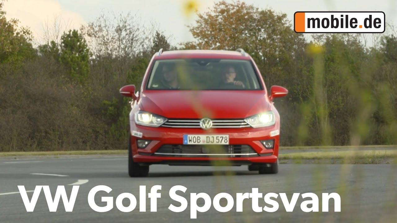 Auto Test Vw Golf Sportsvan 2 Generation Ab 2014 Mobilede