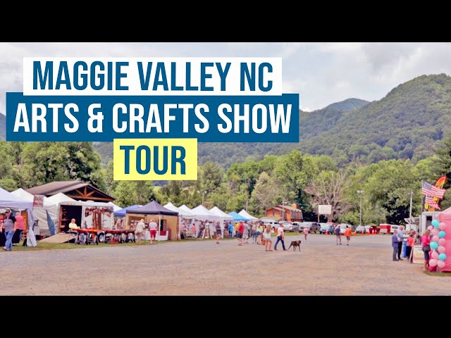 July 2021 Maggie Valley NC Arts & Craft Show