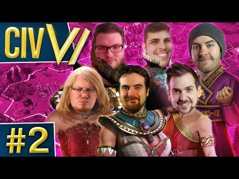 Civ VI: Ladies Night #2 - Early Warring