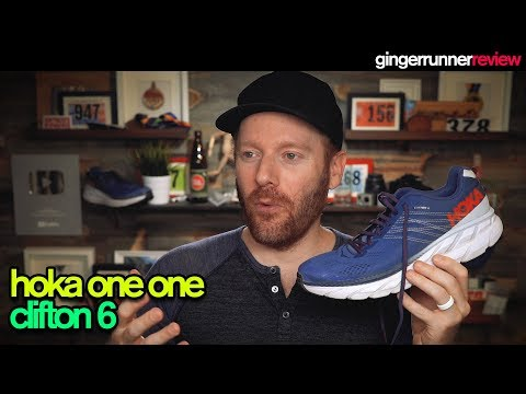HOKA ONE ONE CLIFTON 6 REVIEW | The Ginger Runner