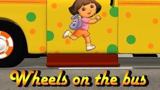 Wheels on the bus | Nursery Rhymes | Kids Rhymes | 3D Video Rhymes | gupthaskids