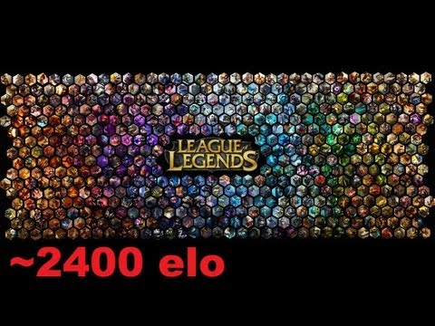 [#8] League of Legends Ranked Diamond 2  [ 2400 elo ] [Live