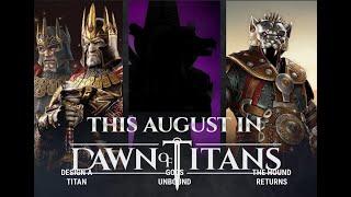 CERBERUS RETURNS | AUGUST | 4000 | NO ONI | EVENTS CALENDAR | DAWN OF TITANS