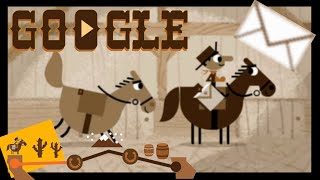 Google Pony Express All 100 Letters Delivered! | Complete Walkthrough Of The Google Doodle Game
