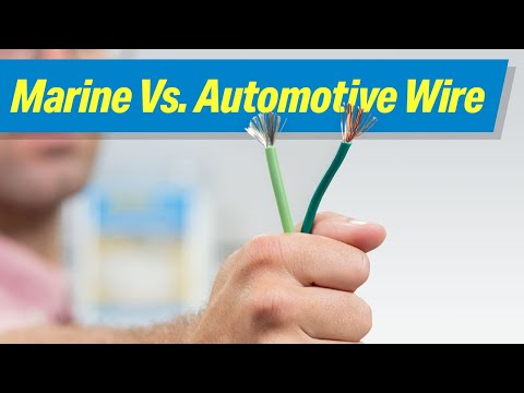 Marine-Rated Vs. Automotive Wire – Which Is Better for Your Boat?