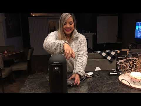 UNBOXING my NESPRESSO BREVILLE VERTUO PLUS!