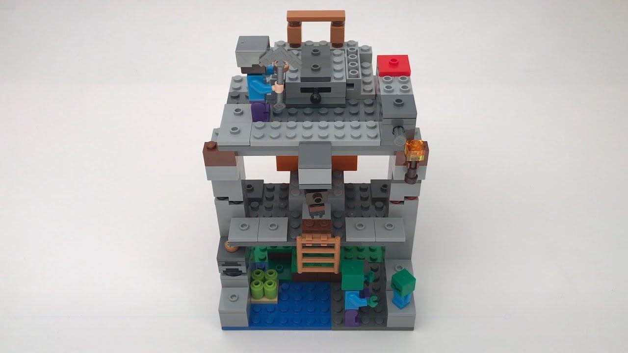 LEGO  MINE CRAFT zombie cave 21141