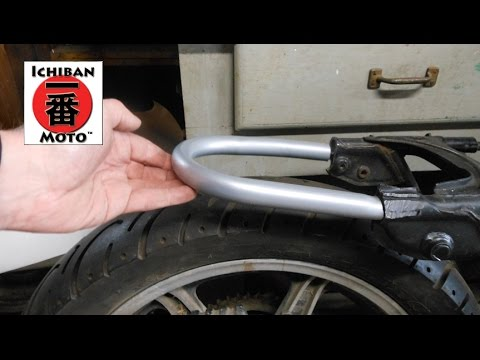 How To Install A Cafe Racer Seat Loop Brat Seat Hoop On Your
