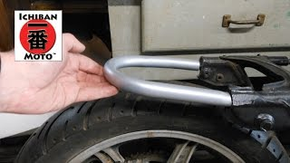 How to install a cafe racer seat loop / brat seat hoop on your motorcycle