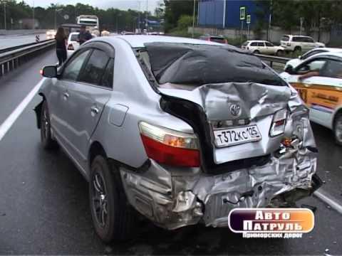 видео: АВТОПАТРУЛЬ Эфир от 05.08.14 В страшном ДТП на трассе Владивосток-Находка погибли 3 человека