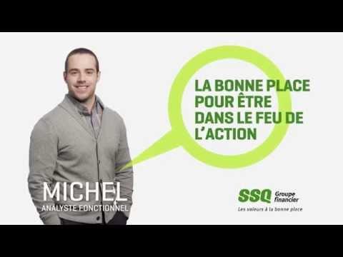 Michel, analyste fonctionnel chez SSQ Groupe financier