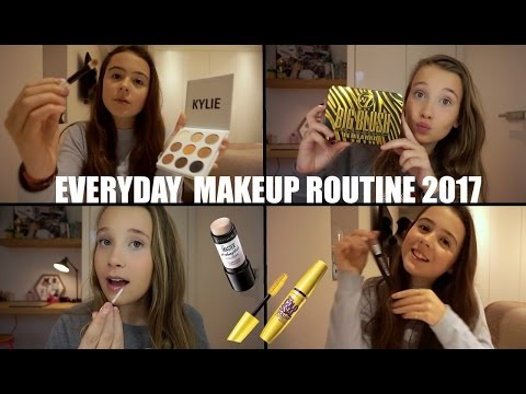 EVERYDAY MAKEUP ROUTINE! 2017