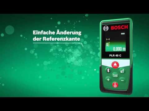 Laser Entfernungsmesser Diy : Bosch laserentfernungsmesser plr c messbereich m