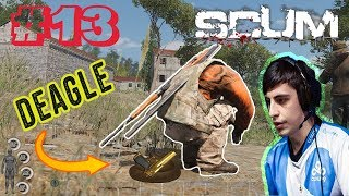 SHROUD POOPS A DEAGLE | PVP ACTION & FUNNY MOMENTS | SCUM HIGHLIGHTS #13