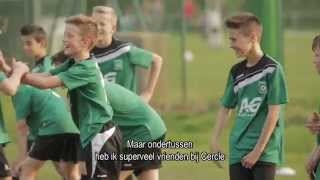 Jeugdacademie Cercle Brugge. Powered by AG Insurance