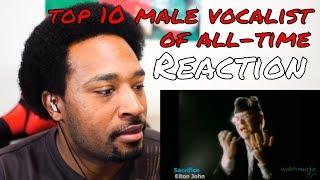 Top 10 Male Vocalists REACTION - DaVinci REACTS