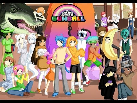 The amazing world of gumball anime version