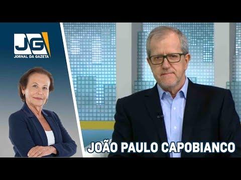 João Paulo Capobianco, coord. programa Marina Silva, fala sobre as eleições
