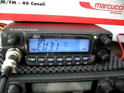 Lafayette Zeus 40 Channel AM/FM European CB Radio