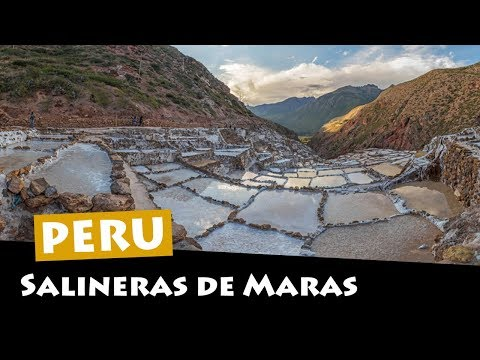 Salineras de Maras: Salt Mines High In The Andes, Peru