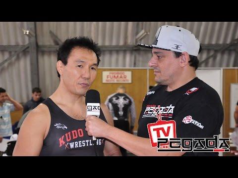TV Pegada #0035 - Seminário Mestre Kudo - Wrestling