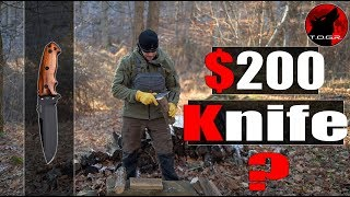 """🔪 How Does a $200 Knife Perform? - Hogue EX-F01 5.5"""" Knife - Made in the USA"""