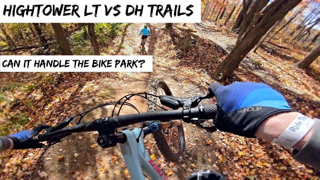 7fdf931ab12 Santa Cruz Hightower LT vs Windrock Bike Park! - YouTube