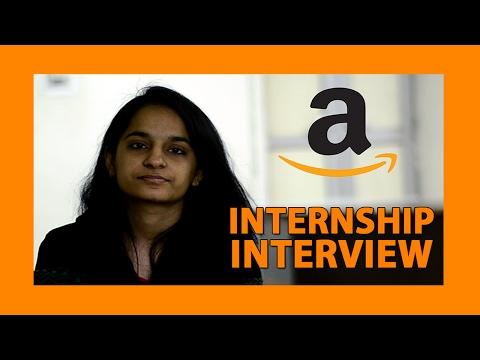 Internship Interview Amazon interview