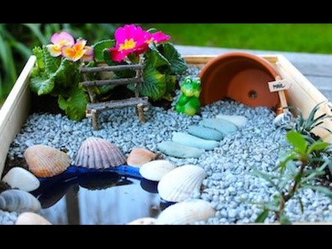 How to make your own fairy garden YouTube