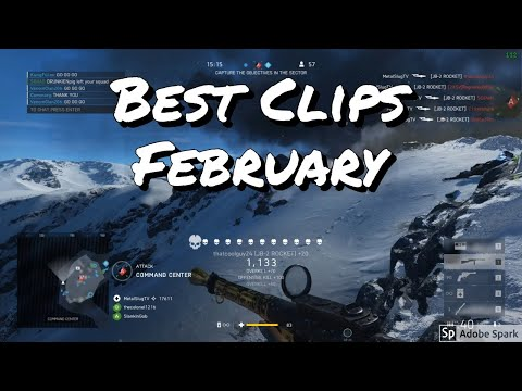My Best Clips of the Month - February 2019 | Battlefield 5 thumbnail